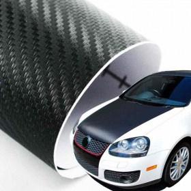 3D Carbon Αυτοκόλλητο Φιλμ – Bubble Free