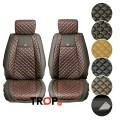 Premium Πλατοκαθίσματα Αυτοκινήτου Diamond - Σετ 2 τμχ, διαθέσιμα χρώματα – Φωτογραφία από Trop.gr