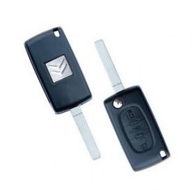 Κέλυφος Κλειδιού Citroen C4, C6, Berlingo και C4 Picasso με 3 Πλήκτρα