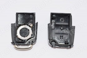 Ανταλλακτικό Κλειδιού VW, Seat Skoda - Πλήκτρα & Βάση Μπαταρίας