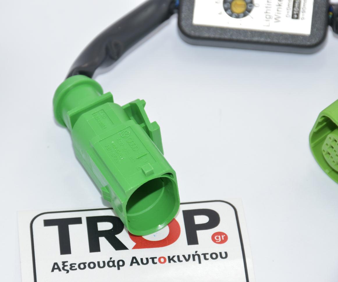 Διαθέτουν ρυθμιστή για την αυξομείωση του χρόνο καθυστέρησης ανάματος των LED (ms) – Φωτογραφία από Trop.gr