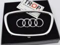 Διακοσμητικό οβάλ σήμα τιμονιού Audi (3) - Φωτογράφιση TROP.gr