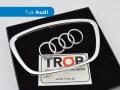 Διακοσμητικό οβάλ σήμα τιμονιού Audi - Φωτογράφιση TROP.gr