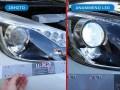 Φανάρι με LED Toyota Yaris Hybrid, με δυνατό καθαρό λευκό χρώμα - Φωτογραφία από το TROP.gr
