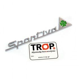Αυτοκόλλητα QV Sportiva (Quadrifoglio Verde) για Alfa Romeo