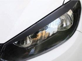 Αυτοκόλλητα Carbon για Μπροστινά Φανάρια VW Golf 6 (Mk6)