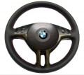 Κάλυμμα για Ντύσιμο Τιμονιού για BMW e46, e39, e53 - Γνήσιο Δέρμα – Τοποθετημένο