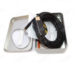 Περιεχόμενα συσκευασίας: Camera, CD Software και Οδηγίες Χρήσης – Εγκατάστασης - Φωτογραφία τραβηγμένη από TROP.gr, χωρίς επεξεργασία