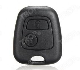 Κέλυφος κλειδιού για Citroen C1 – πίσω όψη – φαίνονται τα 2 κουμπιά