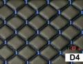 Μαύρο με Μπλε Γαζιά - D4