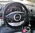 Αυτοκινήτο πελάτη μας, Audi TT, Κάλυμμα Τιμονιού από Alcantara, Ραφτό – Φωτογραφία από Trop.gr