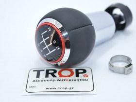 Δερμάτινος Λεβιές 6 Ταχυτήτων συμβατός με Audi A4 B7 και VW Passat B6 - Φωτό από TROP.gr