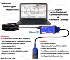 DPA5 DG Technologies (Γνήσιο) – Διαγνωστικό Βαρέων Οχημάτων