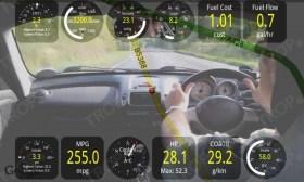 ELM 327 Καταγραφή της διαδρομής με κάμερα με το track recorder