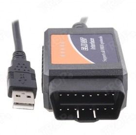 Διαγνωστικό αυτοκινήτου ELM327 OBD2 με USB Καλώδιο