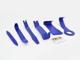Εργαλεία Αφαίρεσης Πλαστικών Μερών Αυτοκινήτων & Κουμπωμάτων (Σετ 6 Τεμάχια)