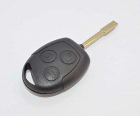 Κέλυφος Κλειδιού με 3 Κουμπιά για Ford Fiesta, Focus κ.α. (FO21)