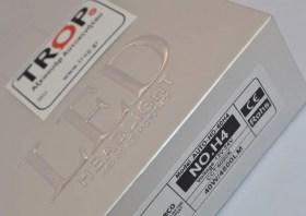 Χαρακτηριστικά LED H4, 40 watt, 4800 Lm, 6000K - Φωτογραφία τραβηγμένη από TROP.gr