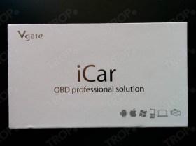 Συσκευασία iCar Elm327 Bluetooth (Φωτογραφία τραβηγμένη από TROP.gr, χωρίς επεξεργασία)