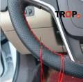 Το κάλυμμα πριν την ολοκλήρωση της τοποθέτησης - Φωτογραφία τραβηγμένη από TROP.gr