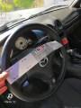 Ραμμένο μαύρο δερμάτινο κάλυμμα σε αυτοκίνητο Mazda πελάτη - Φωτογράφιση TROP.gr