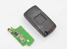 Ολόκληρο Κλειδί με Πλακέτα για Citroen C2 C3 C4 C5 με 3 Κουμπιά - Φωτογραφία τραβηγμένη από TROP.gr