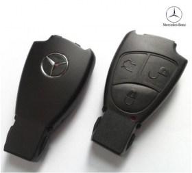Ανταλλακτικό Κέλυφος Κλειδιού με 3 Κουμπιά για Mercedes CLK, SLK, C, E, S Class κ.α.