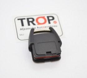 Ανταλλακτικό Κλειδιού με 2 Κουμπιά για Opel Astra G, Vectra, Zafira & Omega