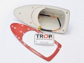 Τοποθέτηση με αυτοκόλλητη ταινία διπλή όψης, περιλαμβάνεται στη συσκευασία - TROP.gr