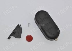 Η συσκευασία περιλαμβάνει: Κλειδί (χωρίς Immobilizer και τηλεχειριστήριο), Βάσης Μπαταρίας, Σήμα και Βίδα - Φωτογραφία τραβηγμένη από TROP.gr