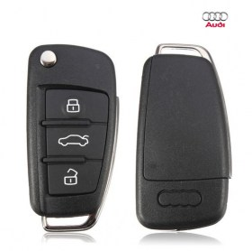 Κλειδί Πτυσσόμενο με 3 Κουμπιά για Audi a3, a4, TT και Α6