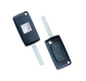 Κέλυφος Κλειδιού Citroen C2, C3 με 2 Πλήκτρα