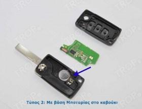 Εσωτερική όψη, φαίνεται και ο τύπος (Τύπος 2) από την θέση της μπαταρίας - Φωτογραφία τραβηγμένη από TROP.gr