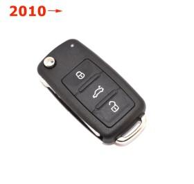 Κέλυφος για το Νέο Κλειδί VW, Seat & Skoda με 3 Κουμπιά (2010 και μετά)