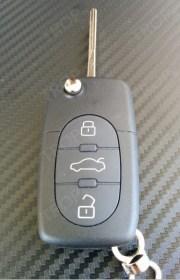 Κέλυφος κλειδιού για A3, A4, TT και άλλα μοντέλα Audi - Φωτογραφία Τραβηγμένη από το Trop.gr  (β)