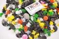 Πλαστικά κουμπώματα αυτοκινήτων - 500 τεμάχια - Φωτογραφία τραβηγμένη από TROP.gr