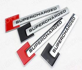 Αυτοκόλλητα Διακοσμητικά Αυτοκινήτου με Logo Super Charged