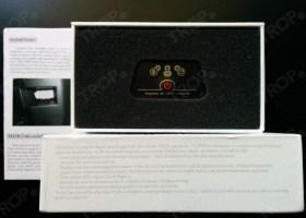 Ανοιγμένο κουτί από iCar Elm327 Bluetooth (Φωτογραφία τραβηγμένη από TROP.gr, χωρίς επεξεργασία)