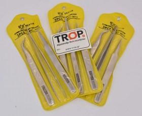 Ατσάλινες Λαβίδες Τσιμπίδες για Μηχανικούς και Ηλεκτρολόγους Συσκευασία - Φωτογραφία τραβηγμένη από TROP.gr