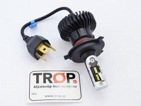 Λάμπα LED H4, Φις σύνδεσης - Φωτογραφία τραβηγμένη από TROP.gr