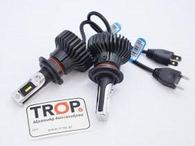 Σετ Λάμπες Αυτοκινήτου LED H7, στα 6500K - 6000lm - IP67 - Φωτογραφία τραβηγμένη από TROP.gr