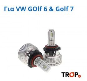 Λάμπες LED συμβατές με VW Golf 6, Golf 7, Passat B7 και Tiguan 5N