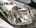LED για Suzuki V-Strom 1ης Γενιάς, όψη μετά την τοποθέτηση - Φωτογραφία τραβηγμένη από TROP.gr