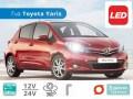 Σετ Λάμπες LED CanBus για Toyota Yaris 3ης Γενιάς (Μοντ: 2011 έως 2017)