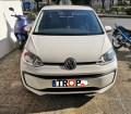 VW UP πελάτης του καταστήματος μας μετά την τοποθέτηση των λαμπών – Φωτογραφία από Trop.gr