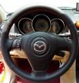 Δερμάτινη Επένδυση για το Ντύσιμο Τιμονιού για Mazda 3, 5, 6 RX8