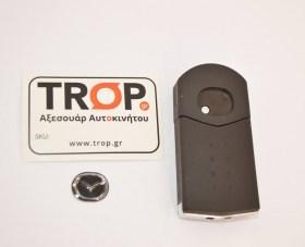 Το αναδιπλούμενο κλειδί κλειστό, πρόσθια πλευρά, φαίνεται η βίδα αποσυναρμολόγησης - Φωτογραφία τραβηγμένη από TROP.gr