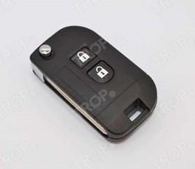 Ανταλλακτικό Κέλυφος Κλειδιού με 2 Κουμπιά για Nissan - Φωτογραφία τραβηγμένη από TROP.gr