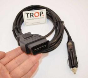 OBD2 Memory Saver για την διατηρεί τις μνήμες του εγκεφάλου κατά την αφαίρεση της μπαταρίας - Φωτογραφία τραβηγμένη από TROP.gr