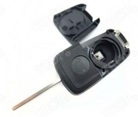 Πρόσθια πλευρά φαίνεται η θέση της μπαταρίας του κλειδιού